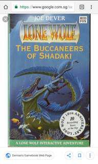 Buccaneers of shadaki book 22 of lone wolf series joe dever
