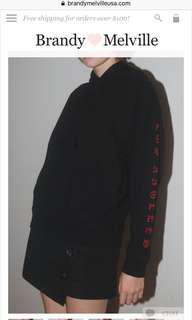 Brandy Melville hoodie size s