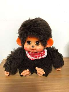 中古 toho 16cm 大助 人形 monchhichi Monchichi 日本🇯🇵 made in japan 已絕版