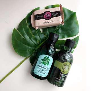 THE BODY SHOP Shampoo, Shower Gel & Soap