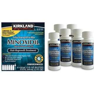 (Kirkland) Ubat Penumbuh Jambang Minoxidil 6 Months