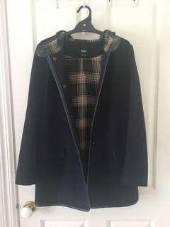 Sportsgirl Navy Coat - Size 8