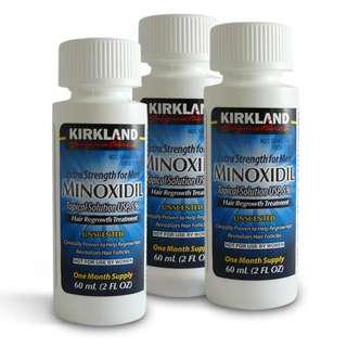 (Kirkland) Ubat Penumbuh Jambang Minoxidil 3 Month