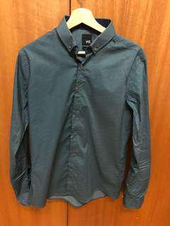 yd. emerald green formal shirt BRAND NEW