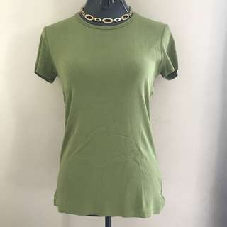 Esprit Green Shirt