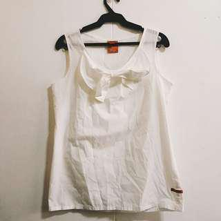 BAYO White sleeveless top