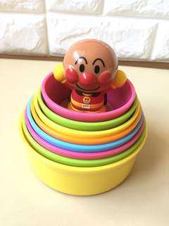 麵包超人層層疊玩具