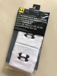 Under Armour wrist band