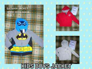 KIDS JACKETS for BOYS