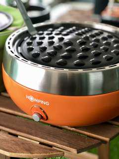 HOMPING Charcoal Grill BBQ