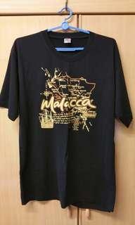Black T-shirt (Malacca)