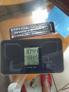 🚚 時鐘體重計