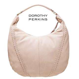 DOROTHY PERKINS PANELLED HOBO TOTE BAG