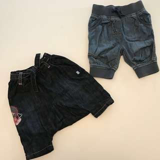 Two for $40!! Next denim jeans 3-9m baby girl boy