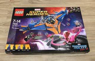 LEGO Marvel Super Heroes 76081 The Milano vs. The Abilisk