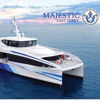 Majestic Ferry Tickets