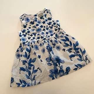 Next Baby girl summer dress 9m