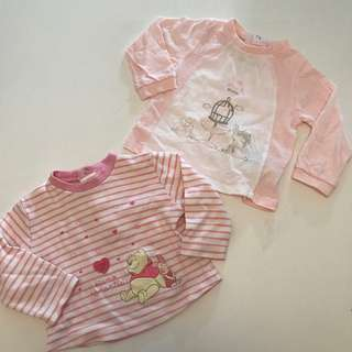 Two for $30! Disney & Brums Baby Top 6m