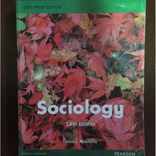 Sociology 14th Ed. - John J. Macionis
