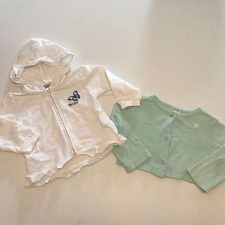 Two for $40! Carters & Brums cardigan jacket 9-12m