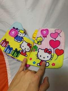 Hello kitty musical book (cloth)