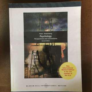 Psychology Perspectives and Connections 2nd Ed. - Feist & Rosenberg