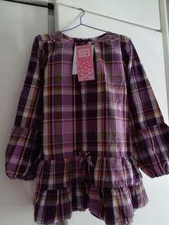 mia紫格連身裙
