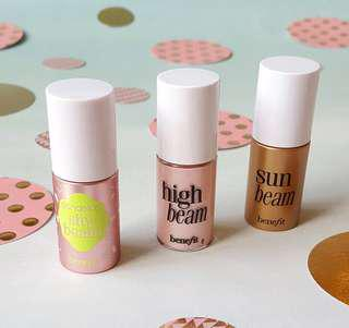 Benefit Mini Highlighters