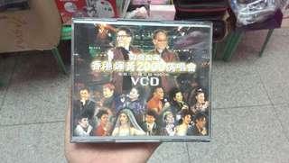 香港輝黃2000演唱會 ( 3個鐘卡拉ok VCD ) 4隻cd