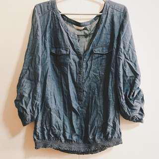 PROMOD light chambray top