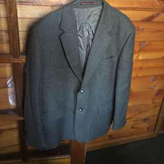 Pure Wool Mens Tweed Blazer - Fletcher Jones