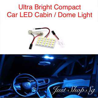 Ultra Bright Compact Car LED Cabin / Dome Light