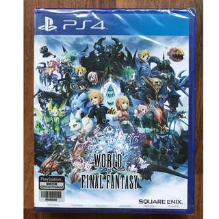 Ps4: World of Final Fantasy [R3]