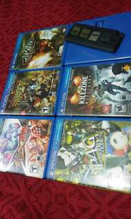 Ps Vita games not 3ds ps3 ps4