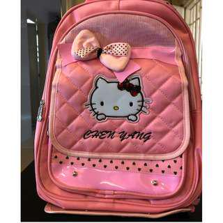 Hello Kitty Trolley School Bag