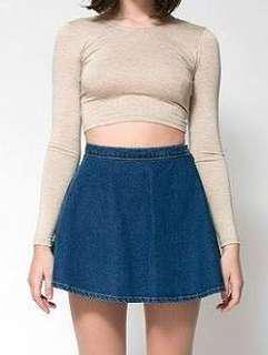 Forever 21 denim mini skirt