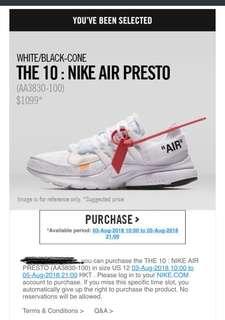 Th 10: Nike Air Presto