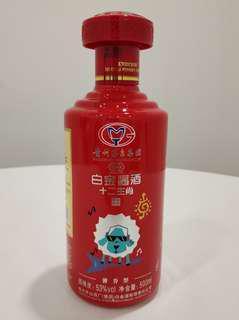 白金醬酒 醬香型 十二生肖 三羊開泰 53%vol 500ml 貴州茅台酒廠(集團)白金酒有限責任公司