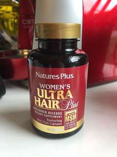 Nature's plus women's ultra hair plus vitamins