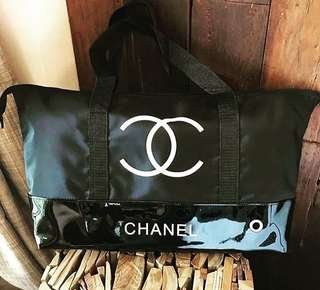 Chanel gift travel tote Authentic💯%