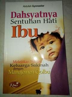 Buku dahsyatnya sentuhan hati ibu