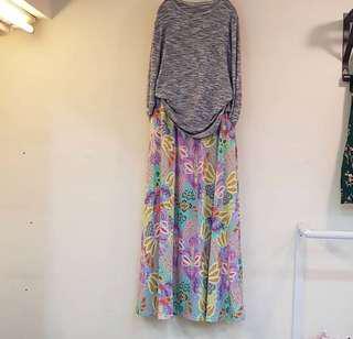 Skirt kulot set