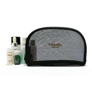 Chanel gift authentic makeup pouch