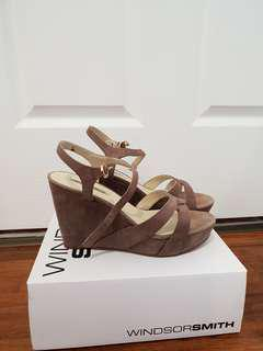 Windsor Smith Taupe Wedges