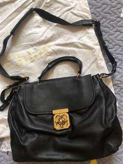 Chloe Black Leather Elsie Bag