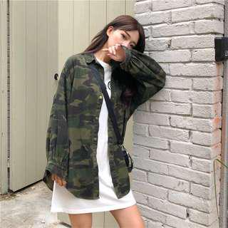 Camouflage Outwear