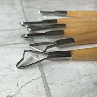 V-Tec Clay Knife (untuk tanah liat)