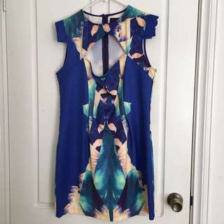 Pilgrim Geometric Mini-Dress