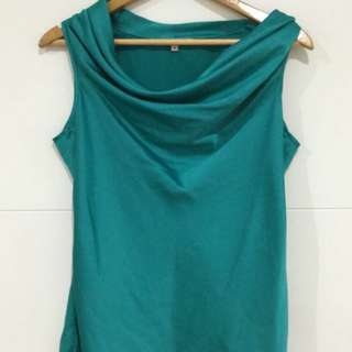 Silk Turquoise Review Top
