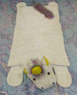 REDUCED Fluffy Unicorn Sleeping Bag
